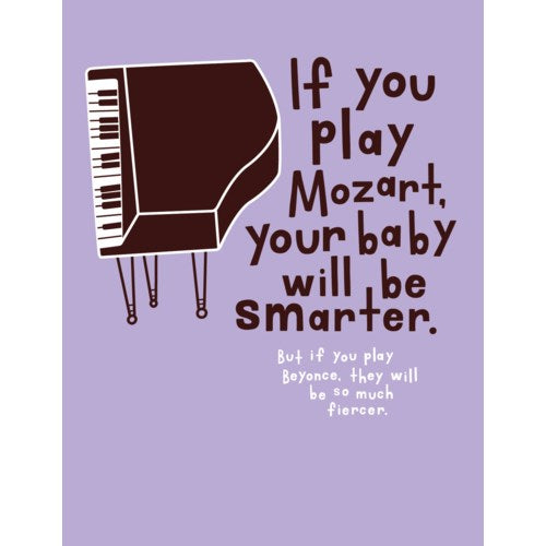 Mozart Card - Flamingo Boutique