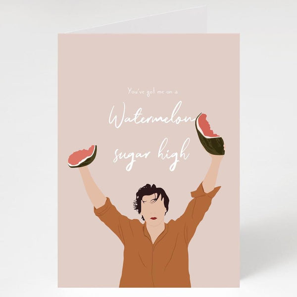 Watermelon Sugar High Card