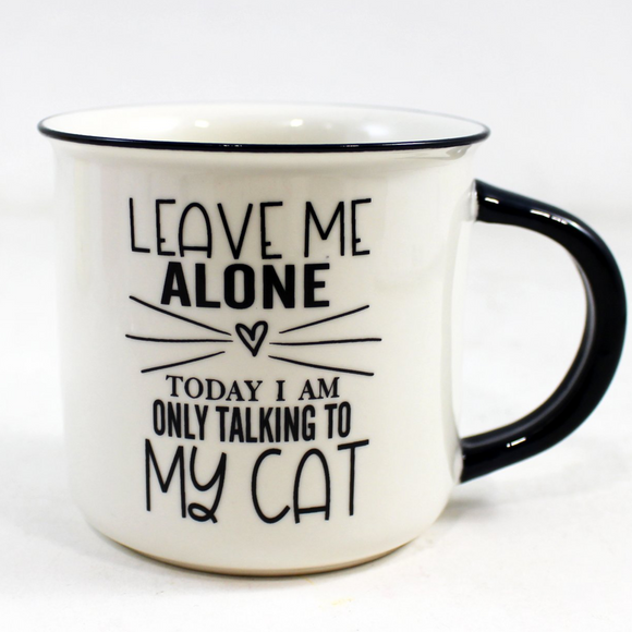 Only Talking To My Cat  Mug - Flamingo Boutique