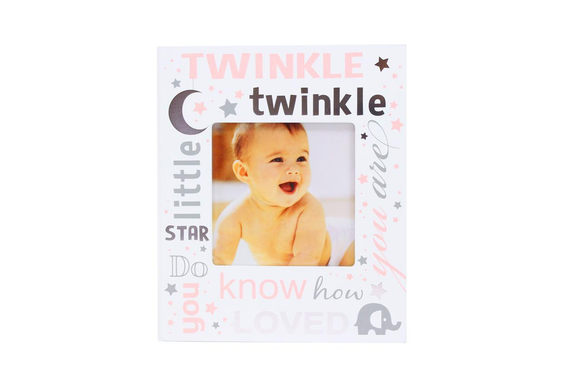 Twinkle Twinkle Pink Photo Frame - Flamingo Boutique