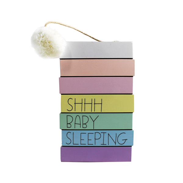 Shhh Baby Sleeping Sign - Flamingo Boutique