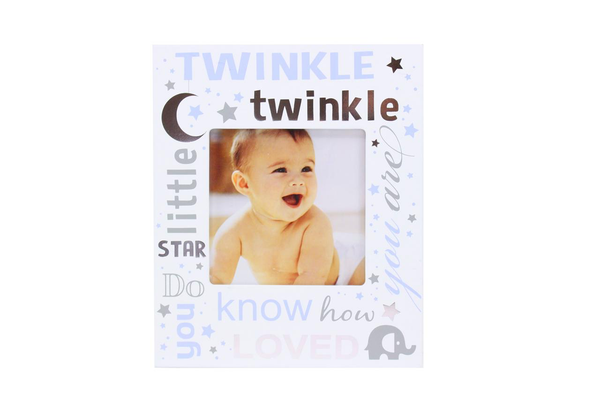 'Twinkle Twinkle' Blue Photo Frame