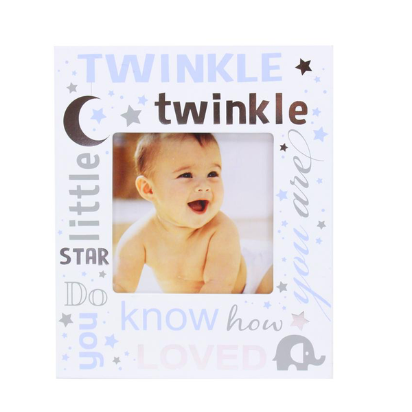 Twinkle Twinkle Blue Photo Frame - Flamingo Boutique