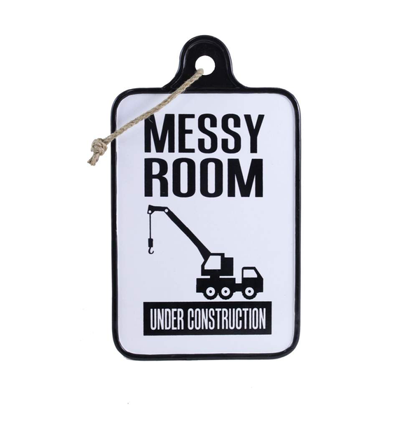 Messy Room Sign - Flamingo Boutique