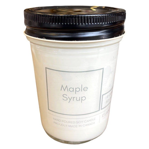 Maple Syrup Soy Candle