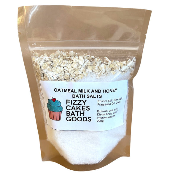 Oatmeal, Milk & Honey Bath Salts