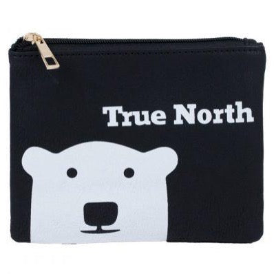 TRUE NORTH POLAR BEAR POUCH