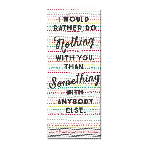 Rather Do Nothing Chocolate Bar - Flamingo Boutique