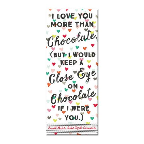 Love You More Chocolate Bar - Flamingo Boutique