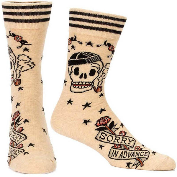 Sorry In Advance Men's Socks - Flamingo Boutique