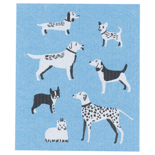 Dog Days Swedish Dish Cloth - Flamingo Boutique