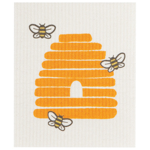 Bee Hive Swedish Dish Cloth - Flamingo Boutique