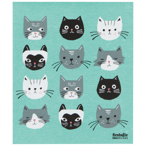 Large Cat's Meow Swedish Dry Mat