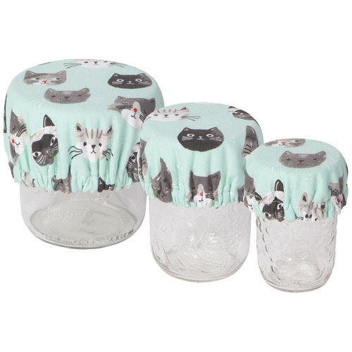 Cats Meow Mini Bowl Covers Set Of 3