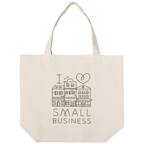Love Small Business Tote Bag