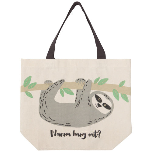 Sybil Sloth Tote Bag - Flamingo Boutique