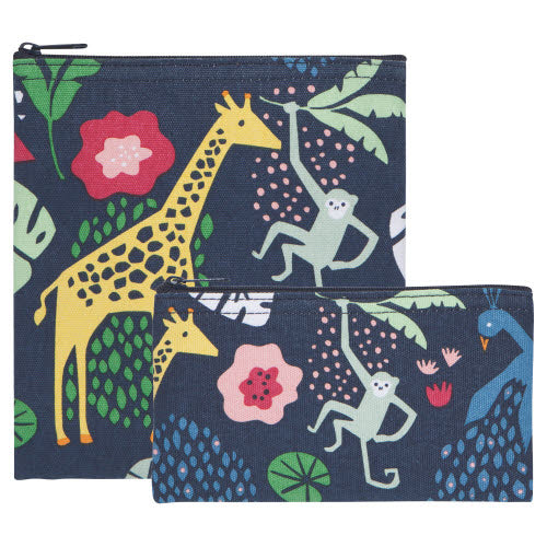 Wild Bunch Snack Bag - Set/2 - Flamingo Boutique