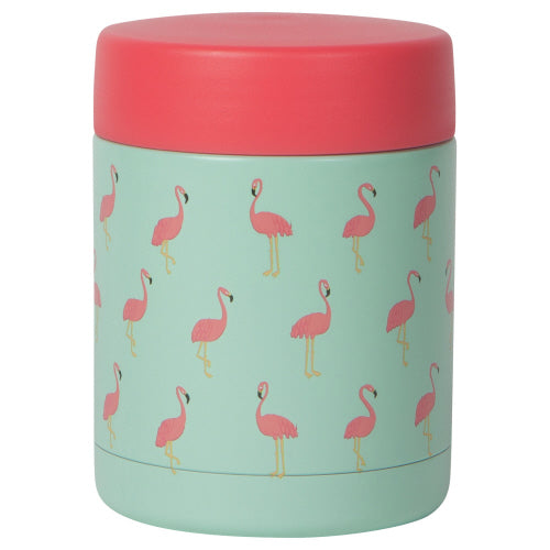 Flamingo Food Jar