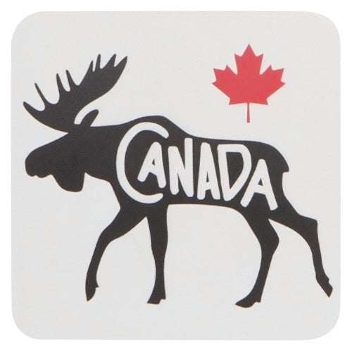 Canada Moose Coaster Set - Flamingo Boutique