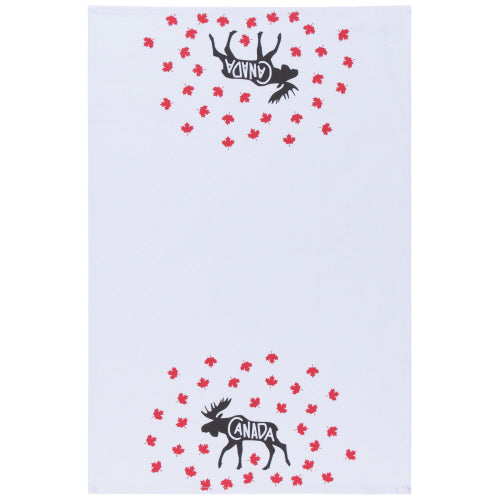 Oh Canada Moose Tea Towel