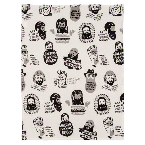 Awesome Beard Tea Towel - Flamingo Boutique