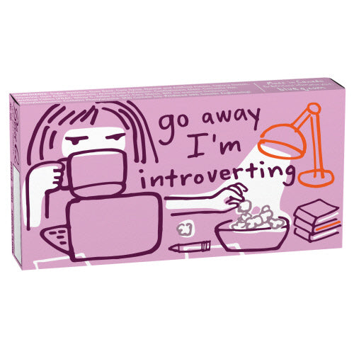 Go Away I'm Introverting Chewing Gum - Flamingo Boutique