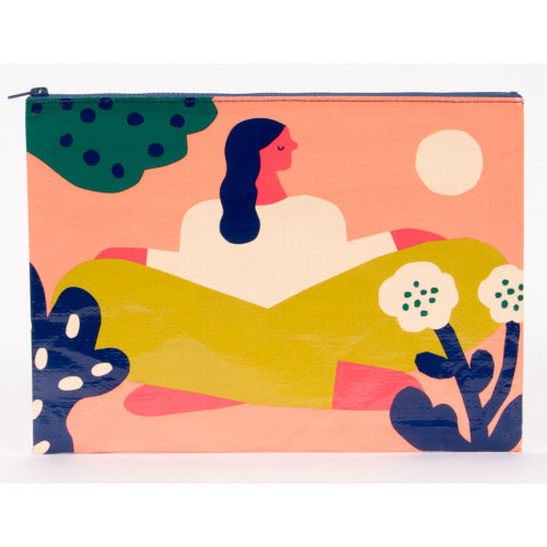 Soak Up The Sun Jumbo Pouch - Flamingo Boutique