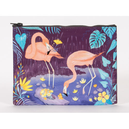 Flamingo Zipper Pouch - Flamingo Boutique