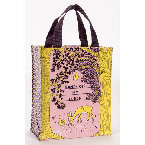 Hands Off My Lunch Handy Tote - Flamingo Boutique