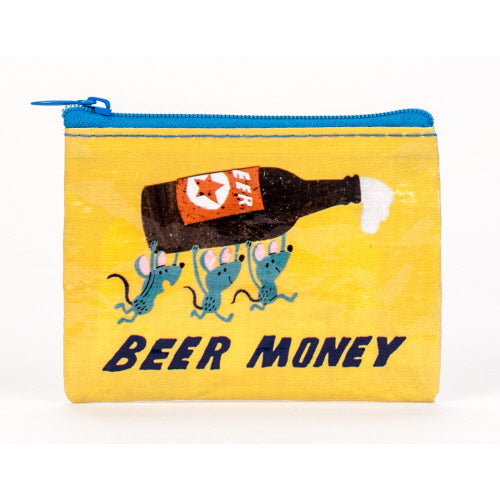 Beer Money Coin Purse - Flamingo Boutique