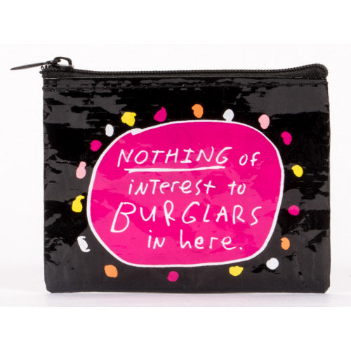 Burglars Coin Purse - Flamingo Boutique