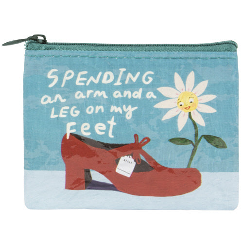 Spending An Arm & A Leg On My Feet Purse