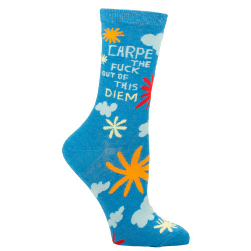 Carpe The F*ck Out Of This Diem Women's Crew Socks