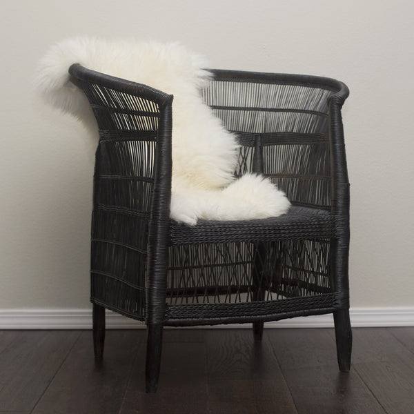 Set of 2 Woven Malawi Chairs - Black or mix & match