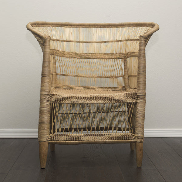 Set of 2 Woven Malawi Chairs - Natural or mix & match