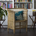 Woven Malawi Chair - Natural Cane Finish