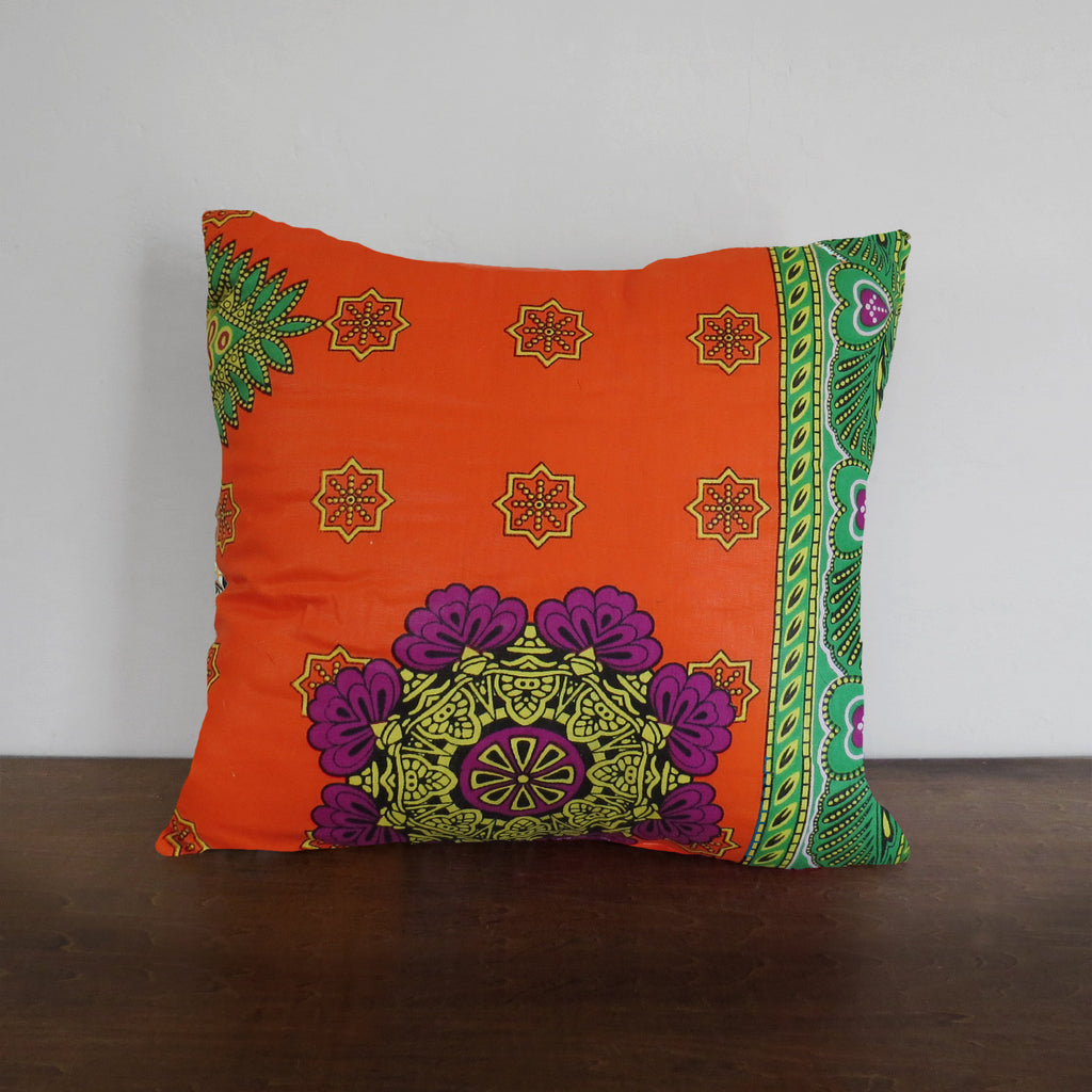 Royal African Wax Print Pillow