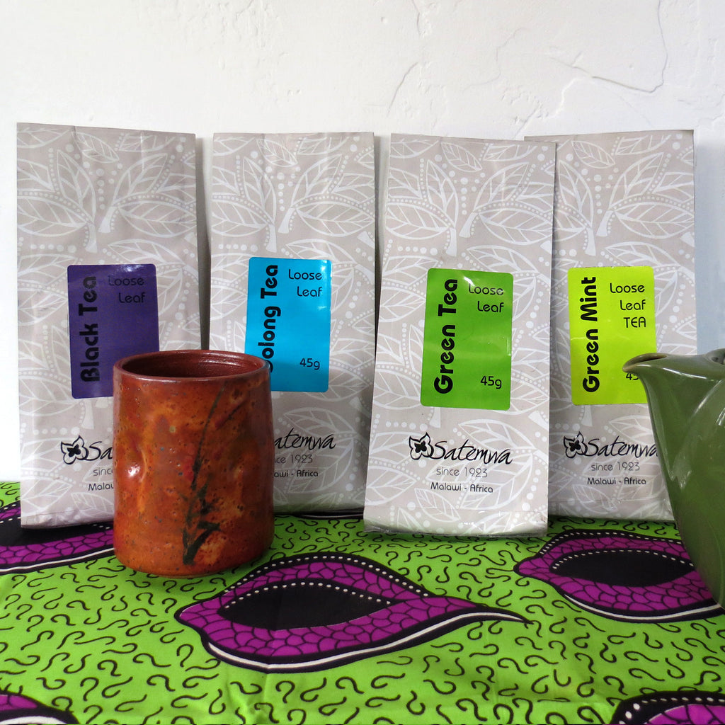 Satemwa loose leaf teas from Malawi
