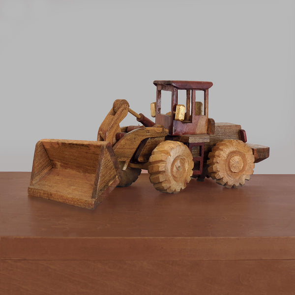 Handmade African Front End Loader Toy