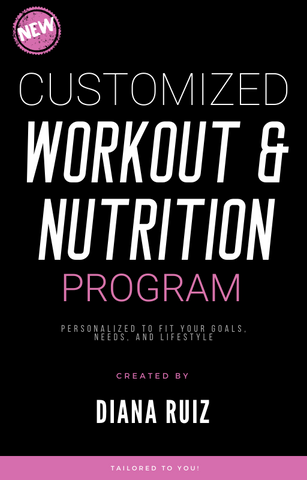 Customized Workout & Nutrition Program