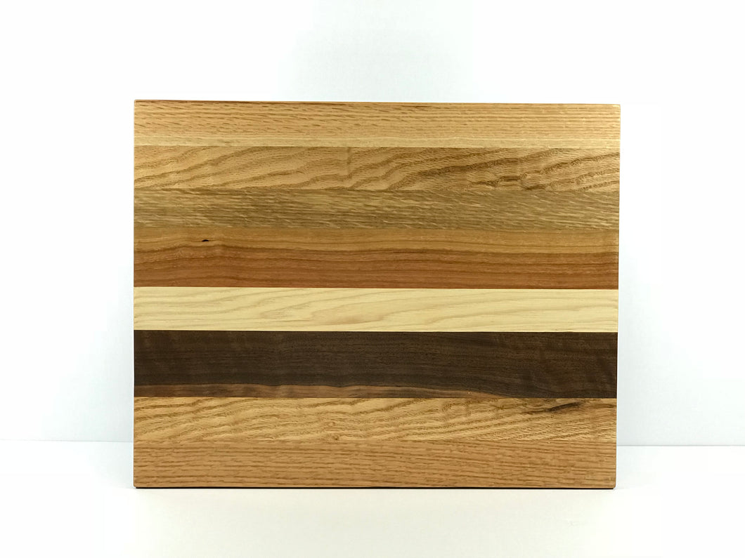 Quarter Sawn Red & White Oak, Black Walnut, Cherry, and Hickory
