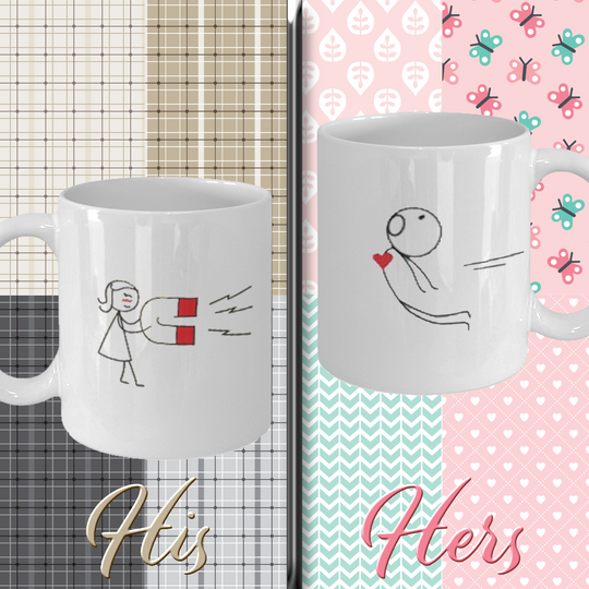 Perfect Valentine's Gift Mugs For Couples