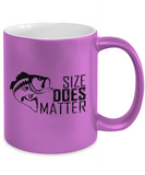 Size Does Matter 11oz Metallic Mug
