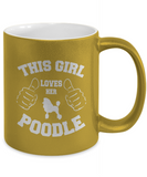 Poodle Metallic 11oz Mug