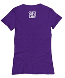 Crazy dog lady women's Tee