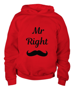 Mr. Right Youth hoodie