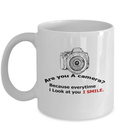 Are You A Camera 11oz Mug