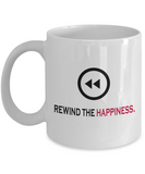 Rewind Button 11 oz Mug