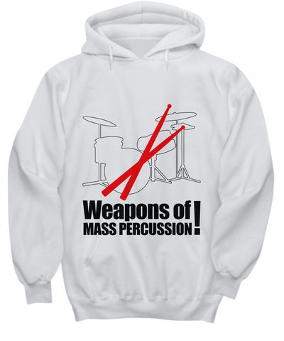 Weapons Of Mass Percussion Hoodie