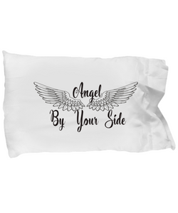 Angel By Your Side Pillow